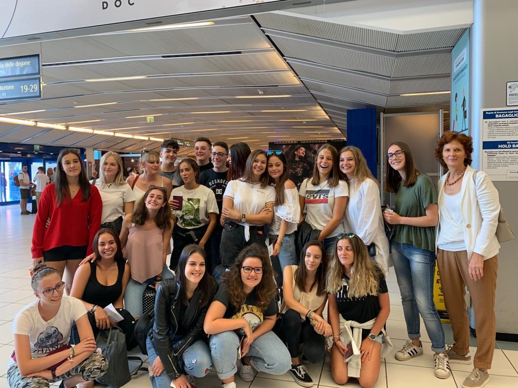 Studenti 4^ anno LIA di Rovereto - Partenza anno all'estero